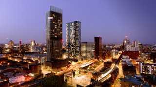Viadux property development, Manchester