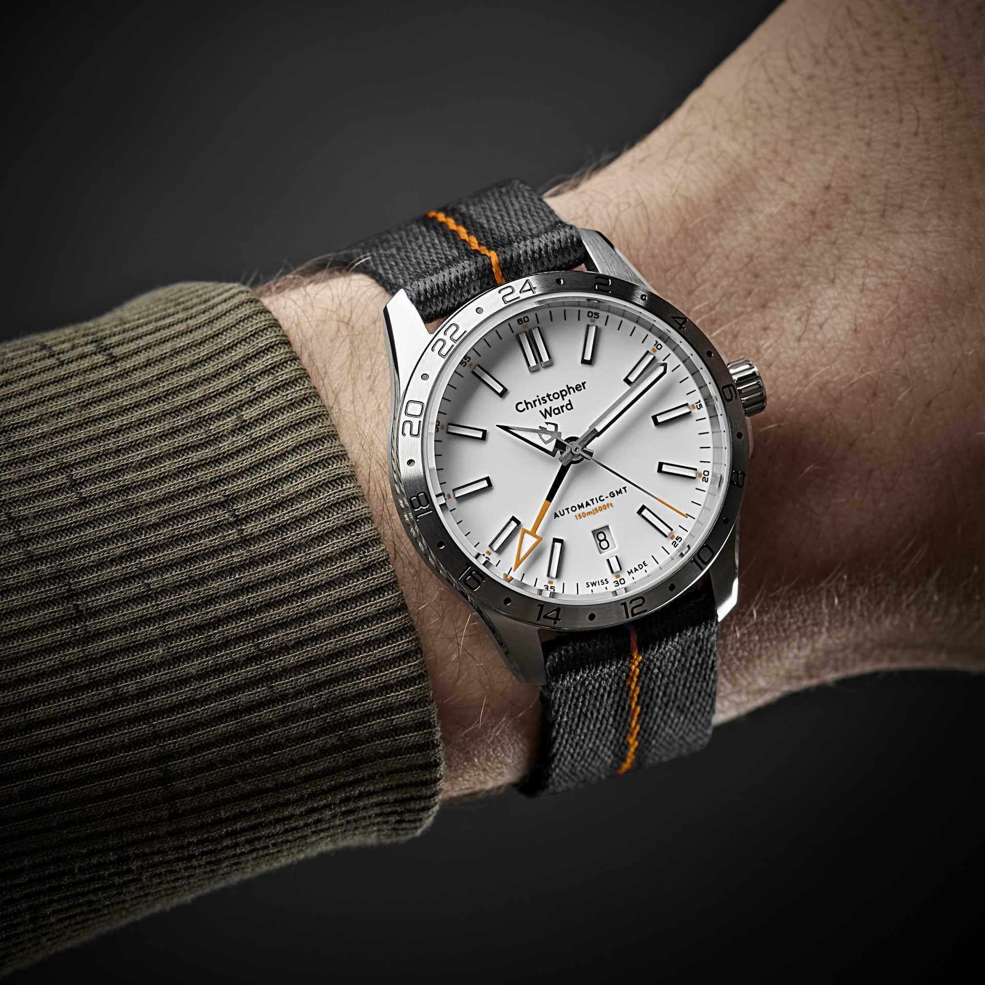 The Christopher Ward C63 Sealander GMT