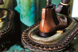 In the factory with Sons of London luxury mens shoe brand