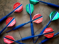 Collection of darts