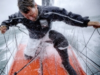 Alex Thomson on his Hugo Boss boat