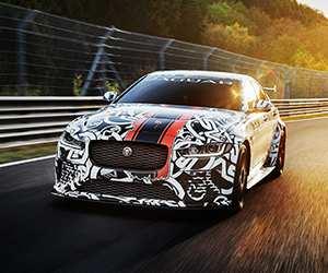 Jaguar XE SV Project 8 car