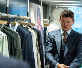 Luke Campbell Boxer in a Suit