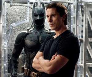 Christian Bale as Bruce Wayne in Batman Dark Knight Rises