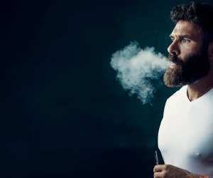 Dan Bilzerian smoking CBD from Ignite vape, his new brand