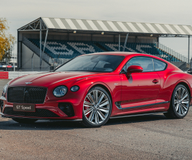 The new Bentley Continental GT Speed