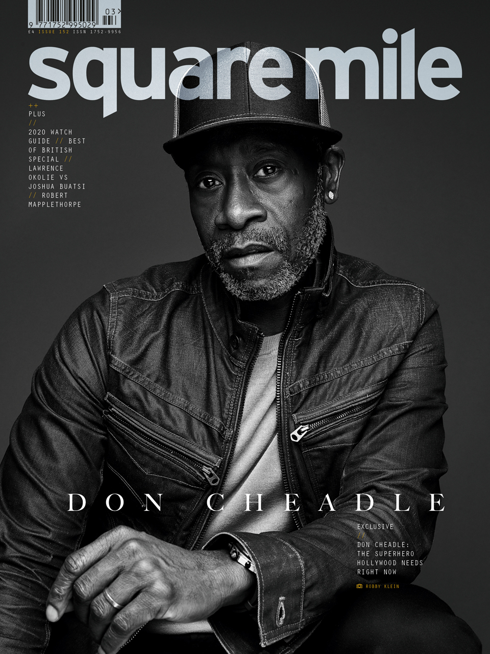 Don Cheadle photographed by Robby Klein / Contour