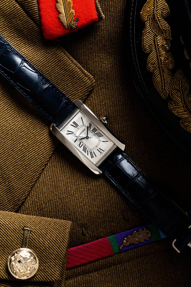 Cartier Tank Americaine Steel Large