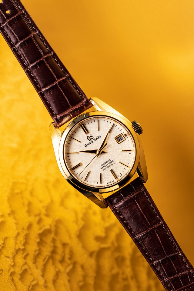 Grand Seiko SBGH266J - best gold watches 2018