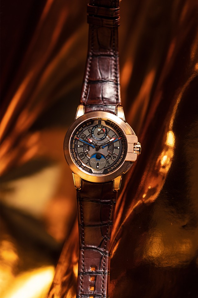 Harry Winston Ocean Biretrograde Perpetual Calendar - best gold watches 2018
