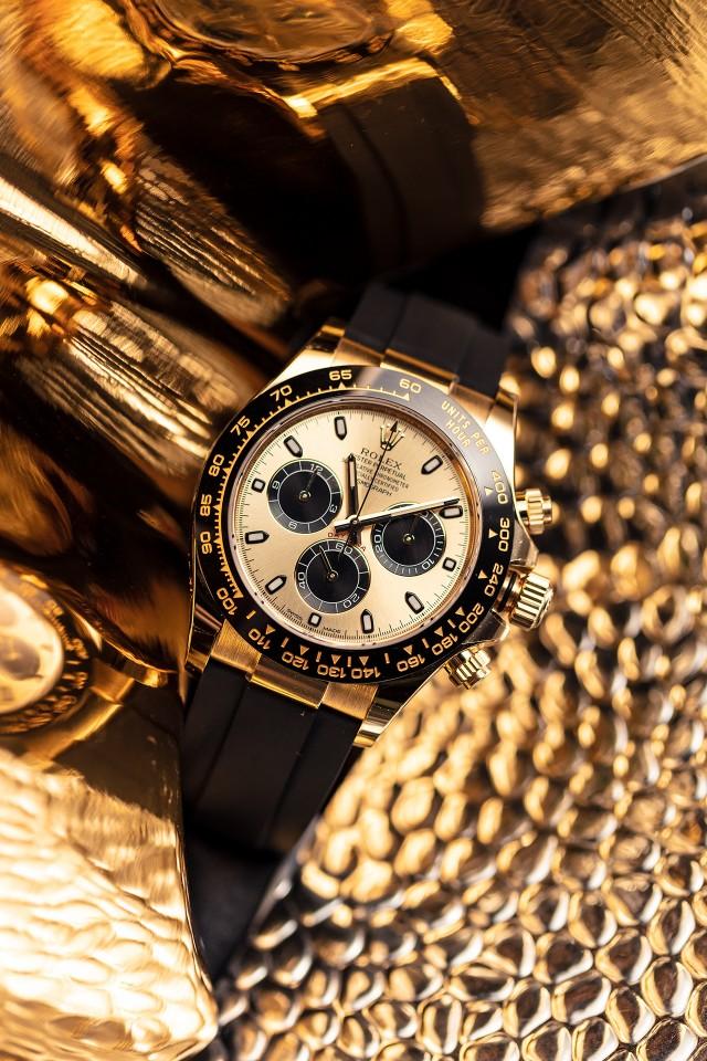 Rolex Cosmograph Daytona - best gold watches 2018