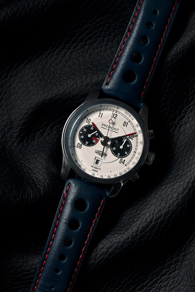 Bremont Jaguar MKII BJ II Chronograph watch