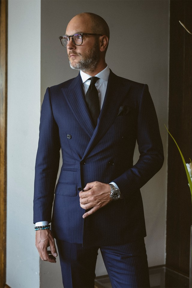 James Palombo tailor interview