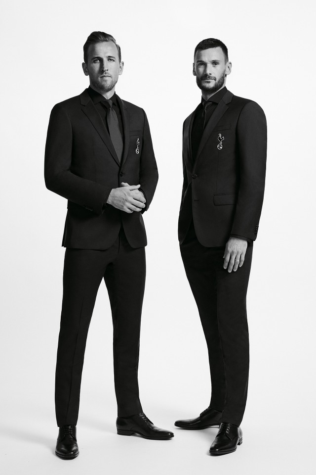 Harry Kane and Hugo Lloris