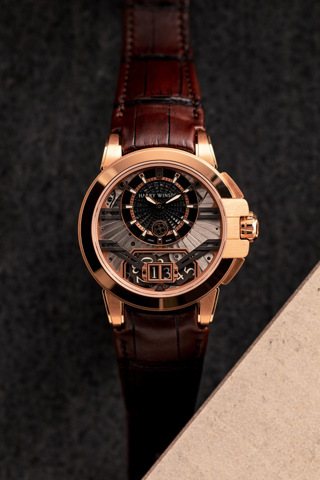 Best rose gold watches, Harry Winston Project Z11