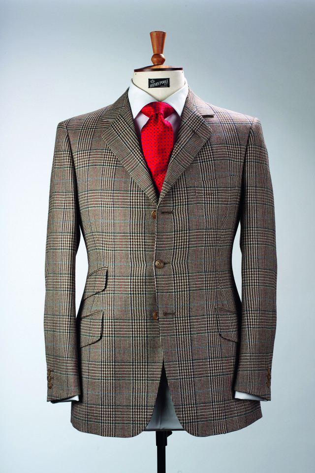 Seafield check from Henry Poole
