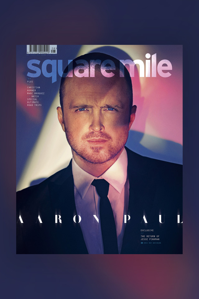 Aaron Paul Collectors Edition Square Mile Magazine