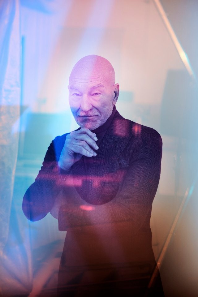 Patrick Stewart by Maarten de Boer for Square Mile