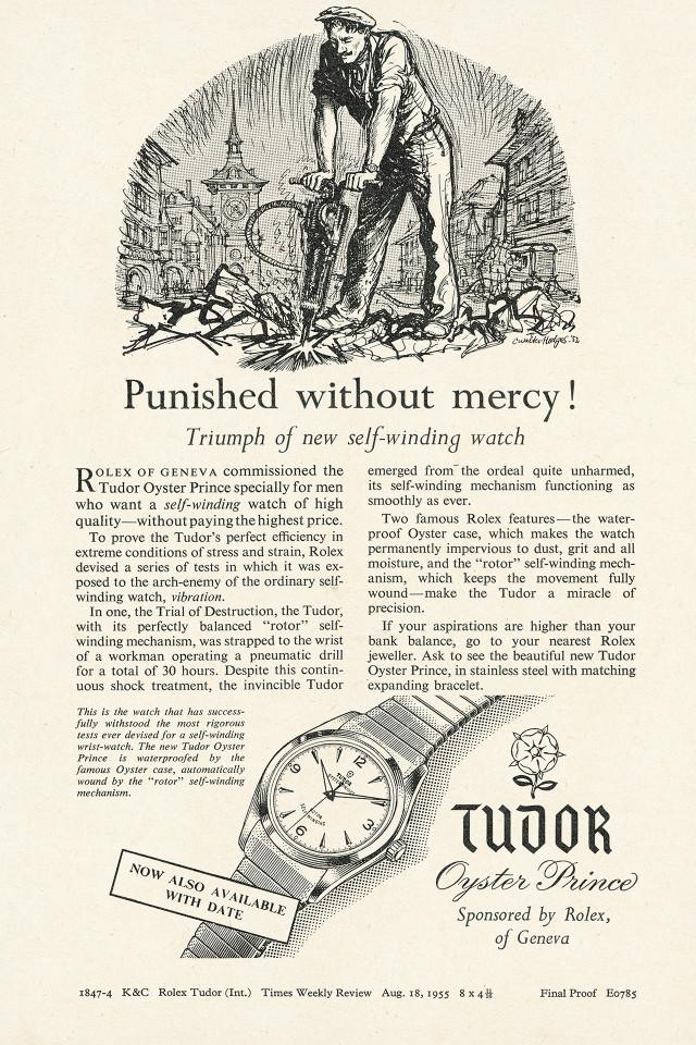 Tudor Vintage Ads