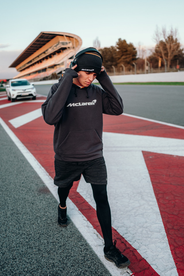 Lando Norris McLaren Formula One racing driver