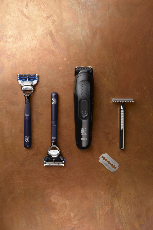King C Gillette range of grooming and facial haircare products for men