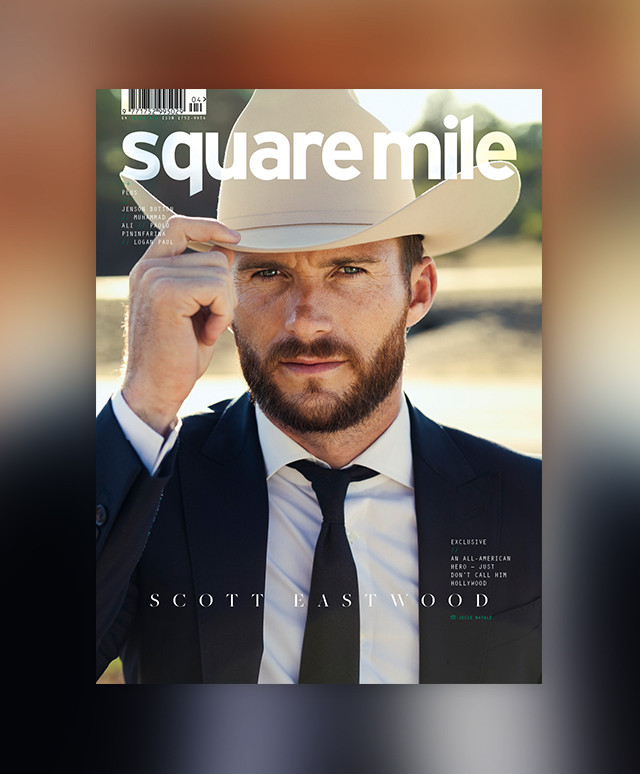 Scott Eastwood cover star - Square Mile magazine issue 153 - shot by Jesse Natale - Newsstand Edition