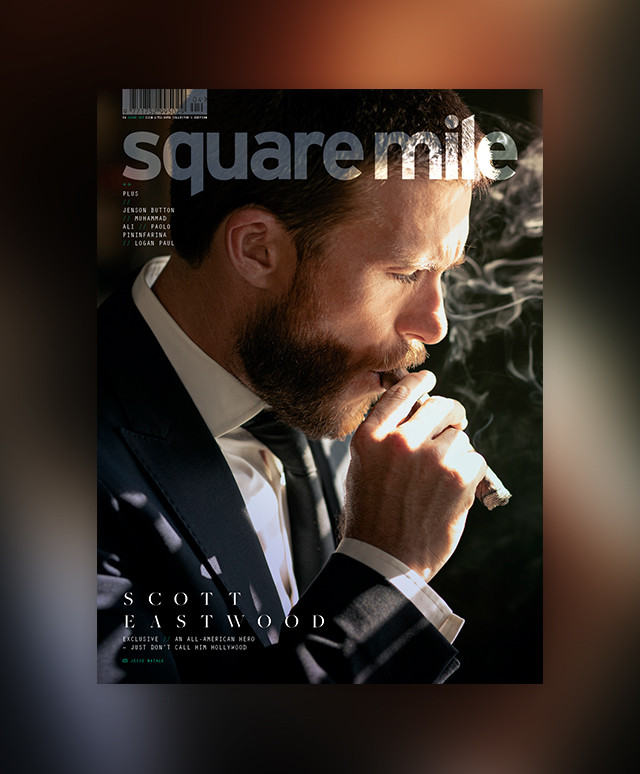 Scott Eastwood cover star - Square Mile magazine issue 153 - shot by Jesse Natale - Subscribers' Edition