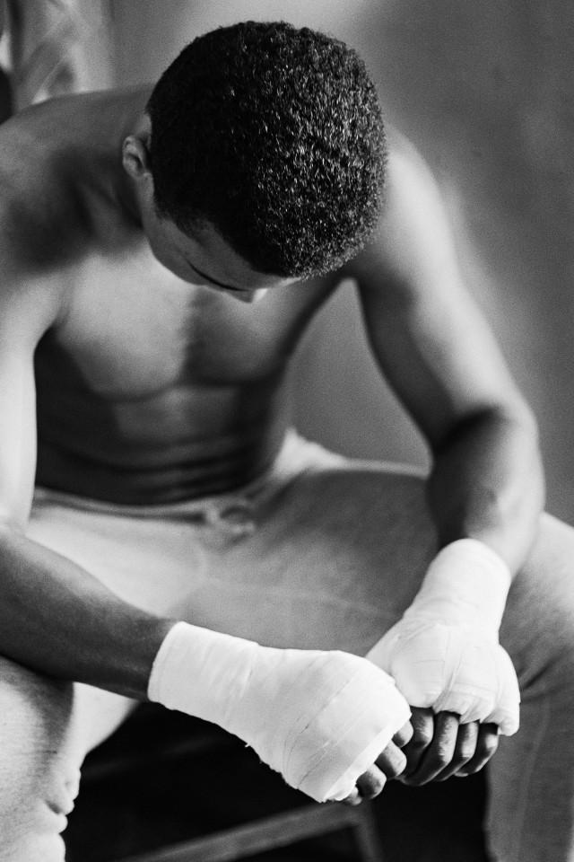 Muhammad Ali in Training,