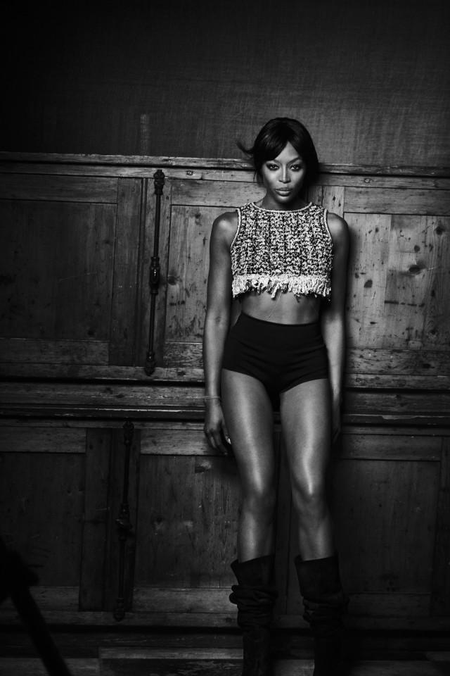 Naomi Campbell shot by Peter Lindbergh
