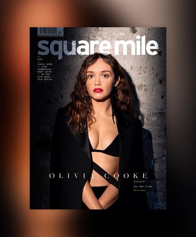 Olivia Cooke for Square Mile magazine