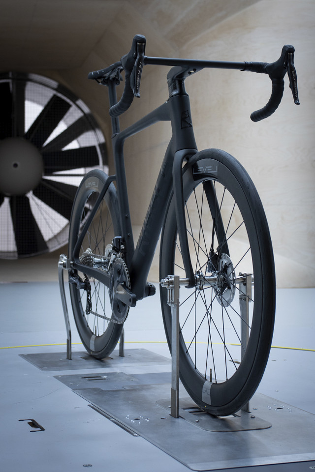 Ribble Cycles wind testing