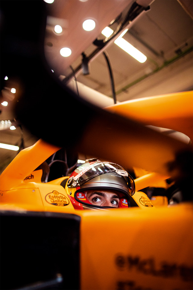 Carlos Sainz Jr, McLaren racing driver