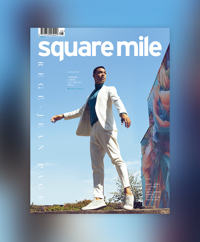 Square Mile Issue 157 Regé-Jean Page front cover