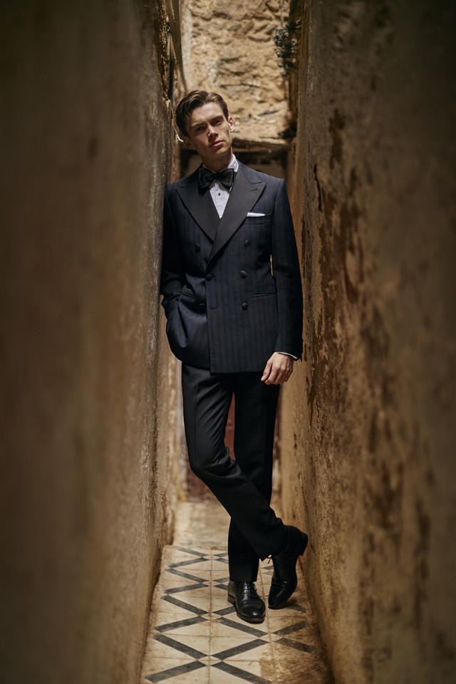 Mathias LeFevre black tie
