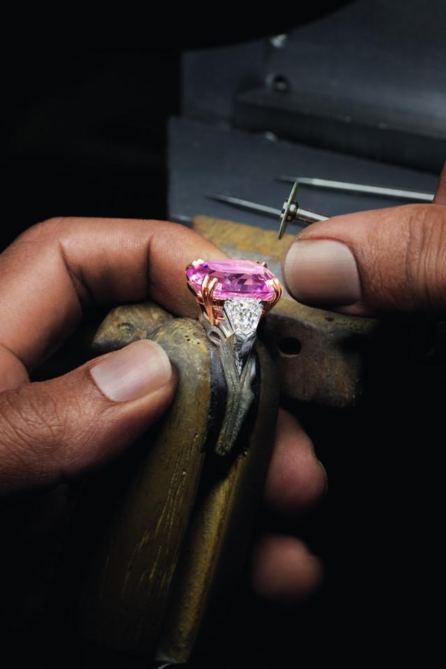 Winston Pink Legacy Diamond Ring