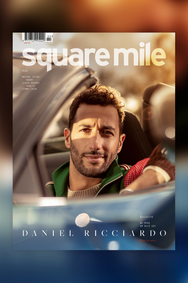 Formula One racing driver Daniel Ricciardo