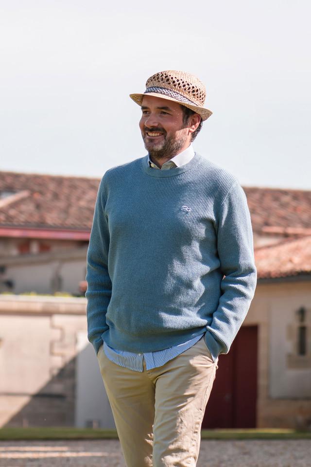 Monsieur Tristan Le Lous at Château Cantenac Brown