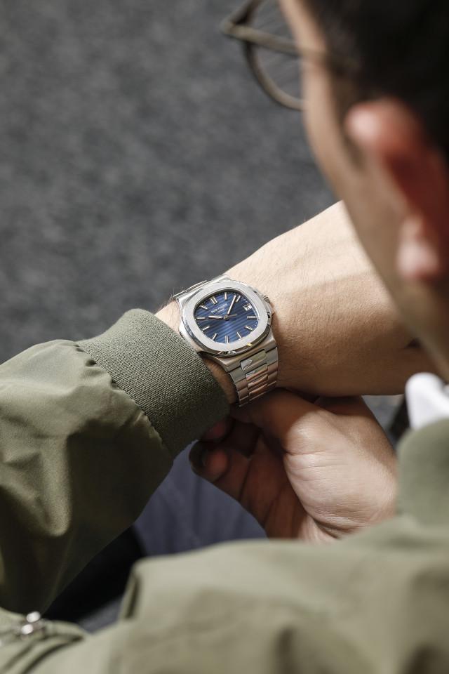 Patek Philippe Nautilus Ref. 5711P watch, Phillips Geneva Auction