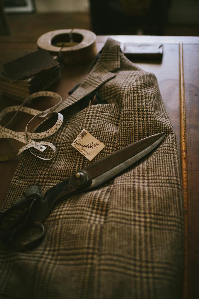 Campbell's of Beauly tweed suits