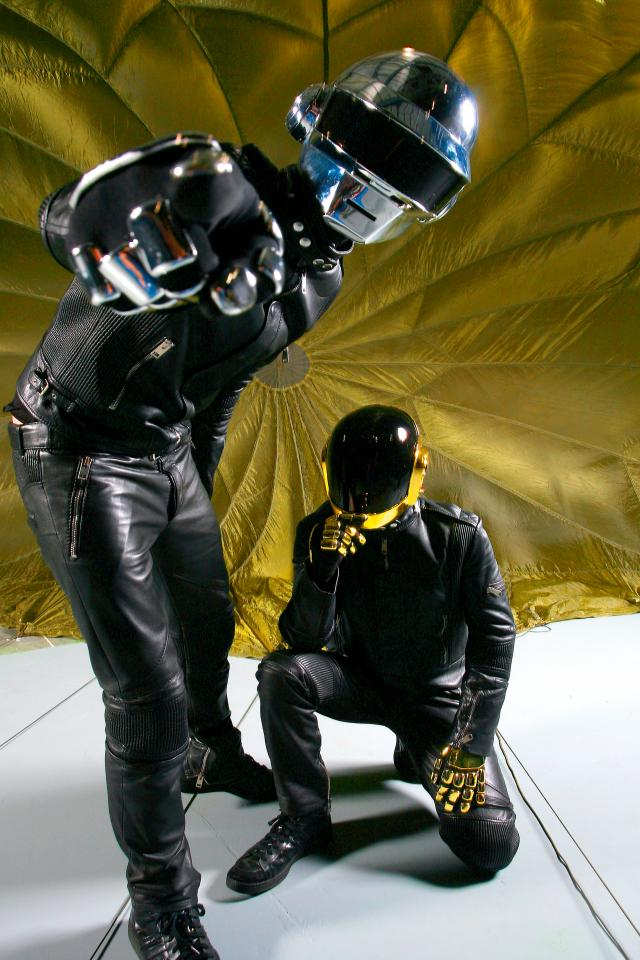 Daft Punk photographed by Mick Rock