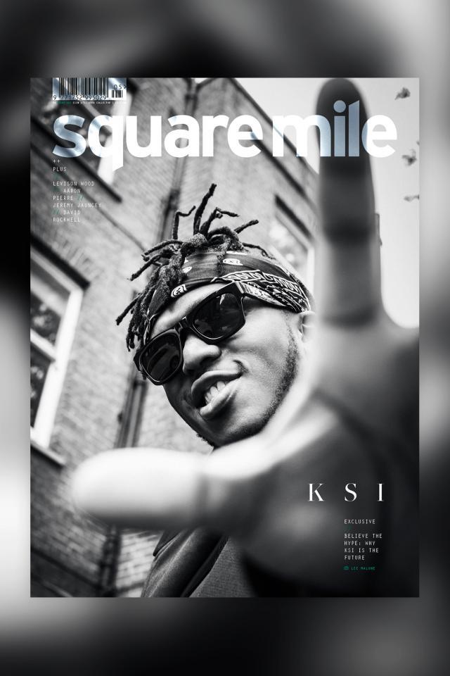 KSI for Square Mile magazine