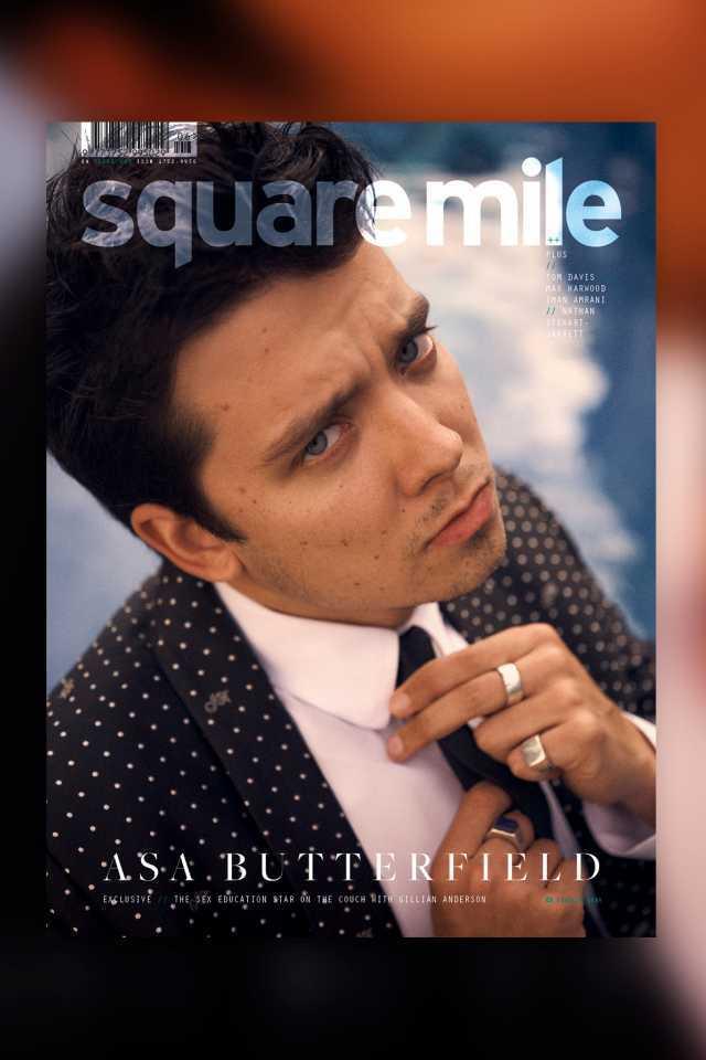 Asa Butterfield (c) 2021 Threadneedle Media