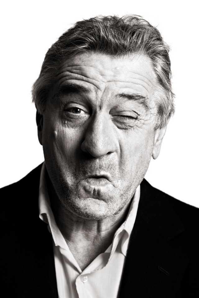 Robert De Niro by famous photographer Andy Gotts MBE