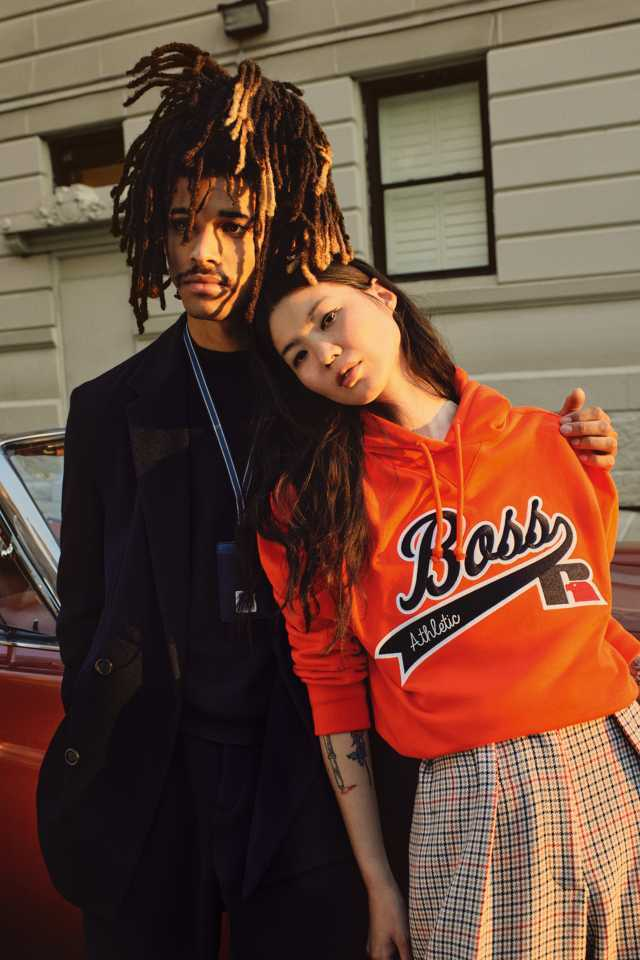 Boss x Russell Athletic FW21 collection