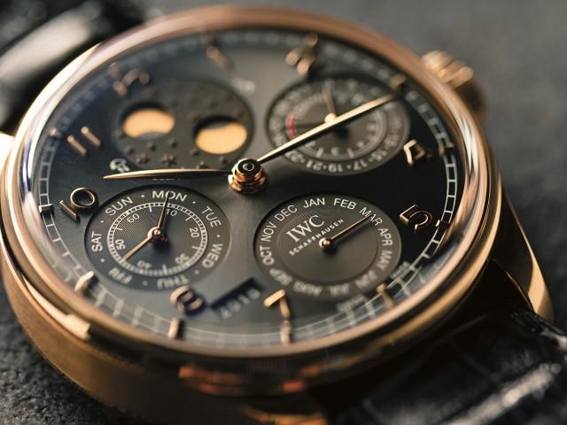 Best rose gold watches, IWC Portugieser Perpetual Calendar