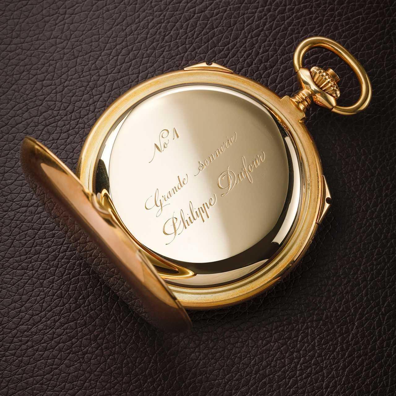 Philippe Dufour Grande & Petite Sonnerie Pocket Watch number 1 (Unique Piece)