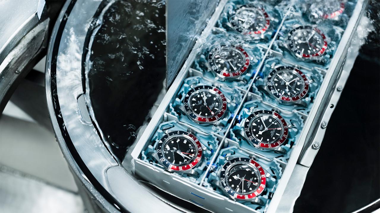 Tudor Watches water pressure test