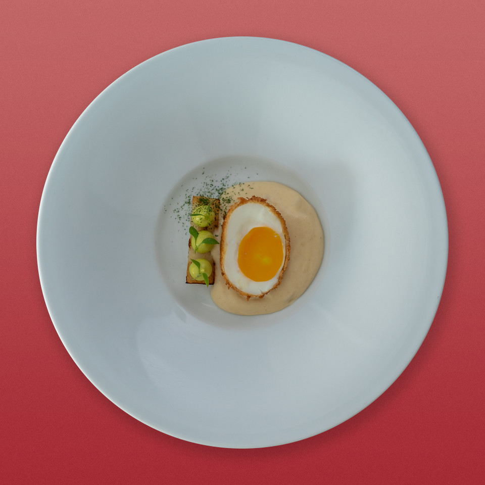 'Egg and Soldiers' at Six by Nico London
