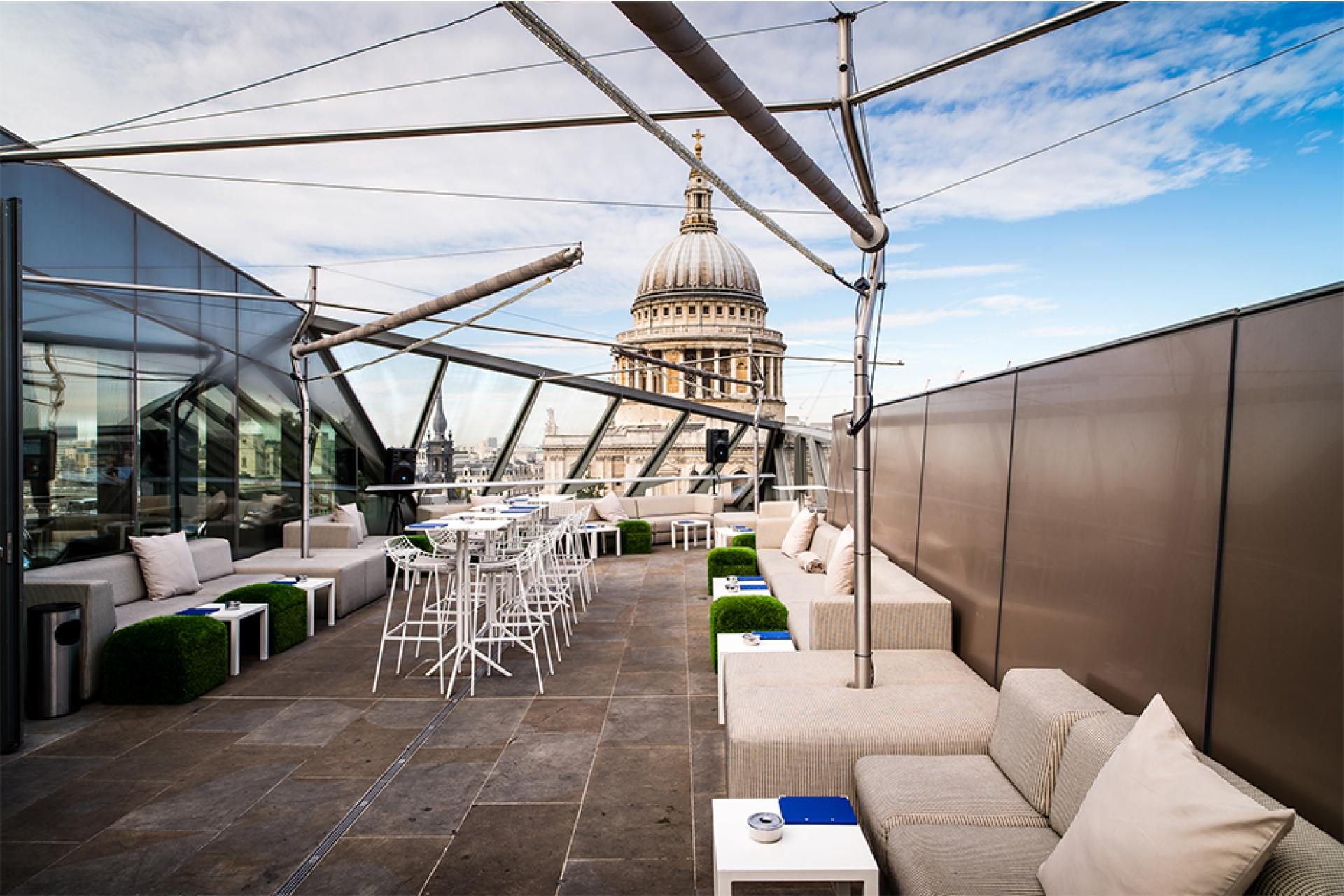 MADISON, ST PAUL'S Rooftop Bar