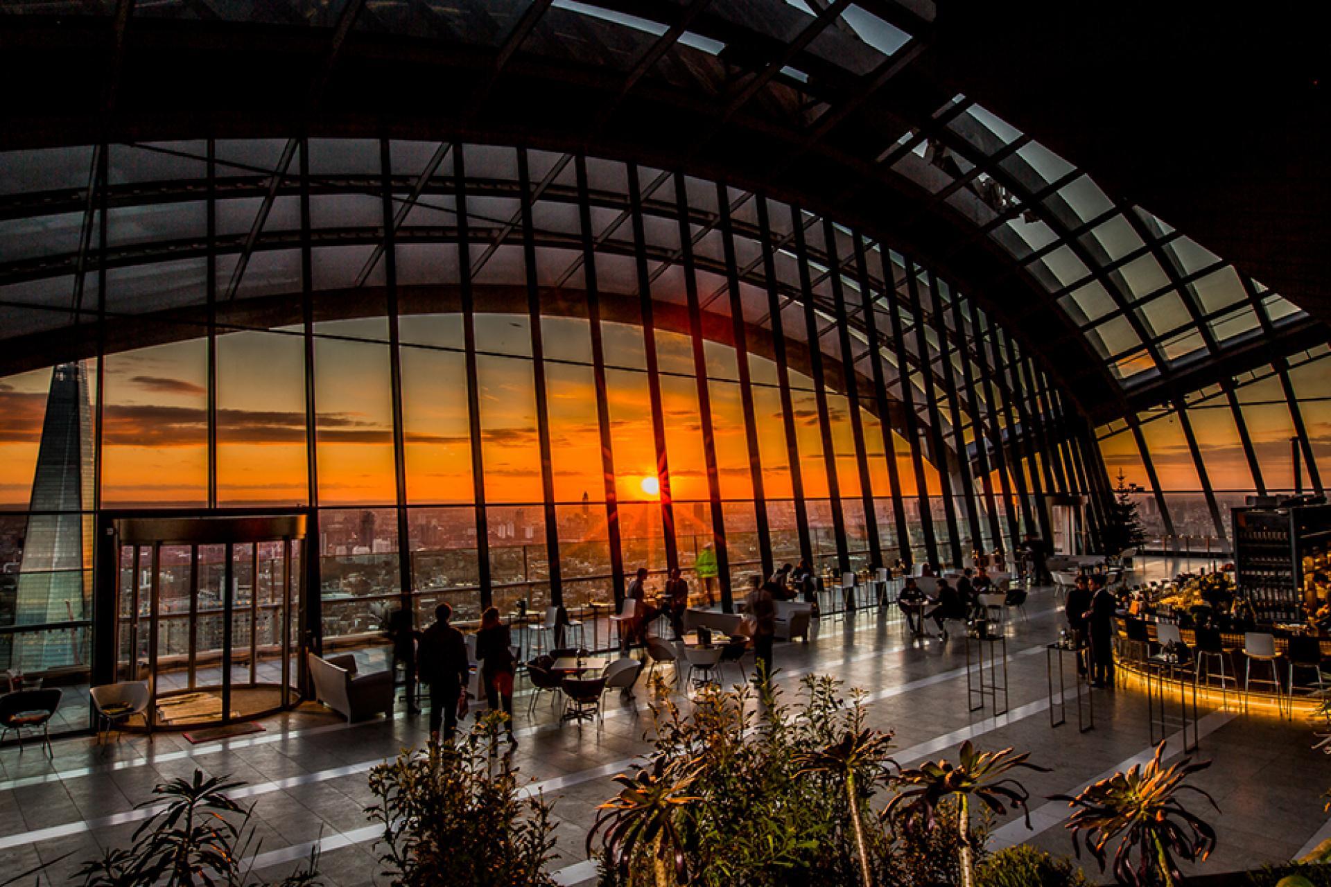 Sky Garden Rooftop Bar